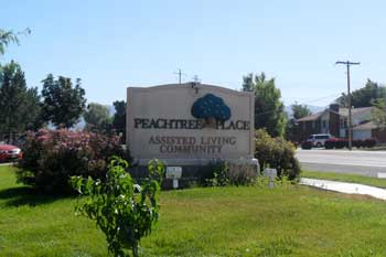 PeachTree Place Sign