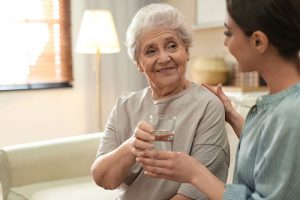 Medication Assistance At Senior Apartment